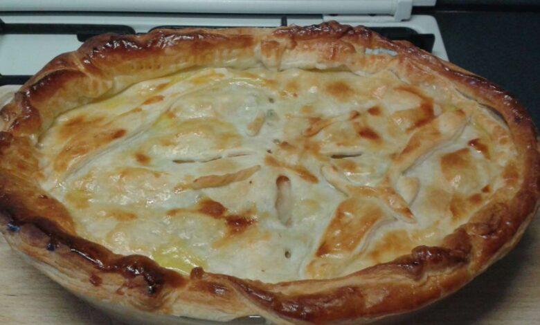 Receta de pizza caribeña con pollo 1
