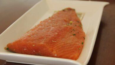 Receta de salmón a la escandinava 10
