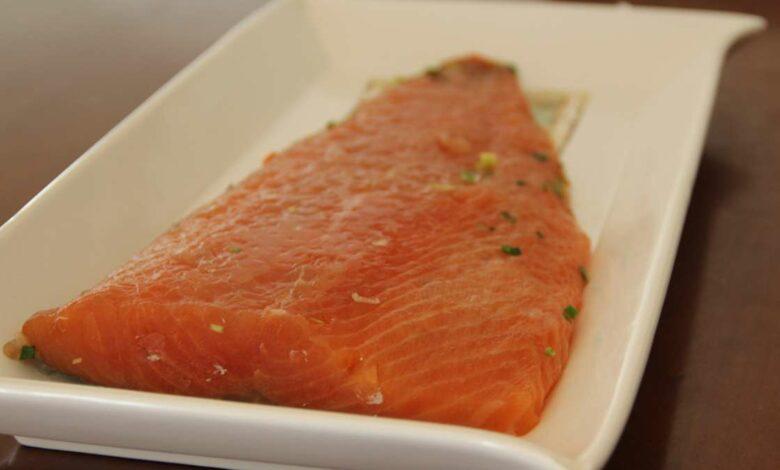 Receta de salmón a la escandinava 1