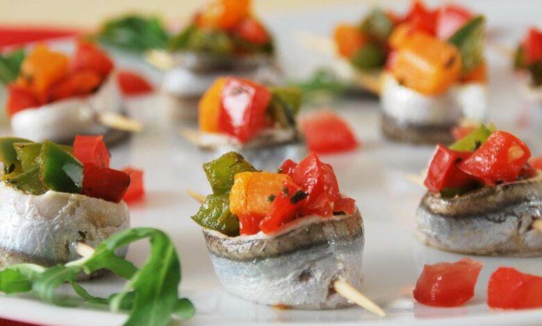 Rollitos de sardinas con verduras 1