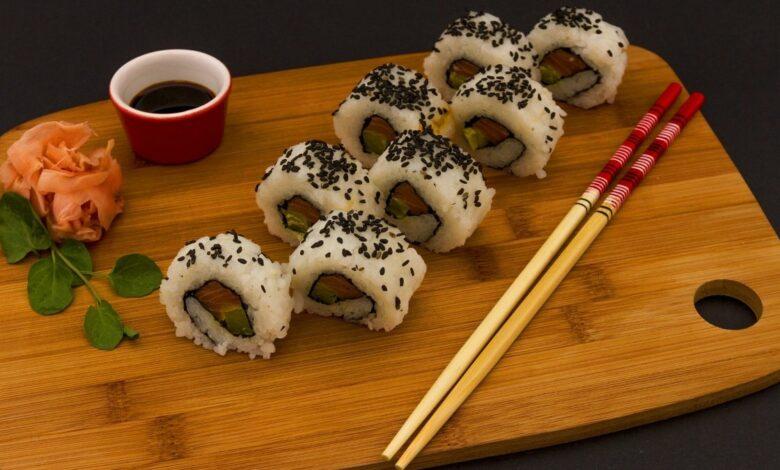 Receta de sushi casero paso a paso 1