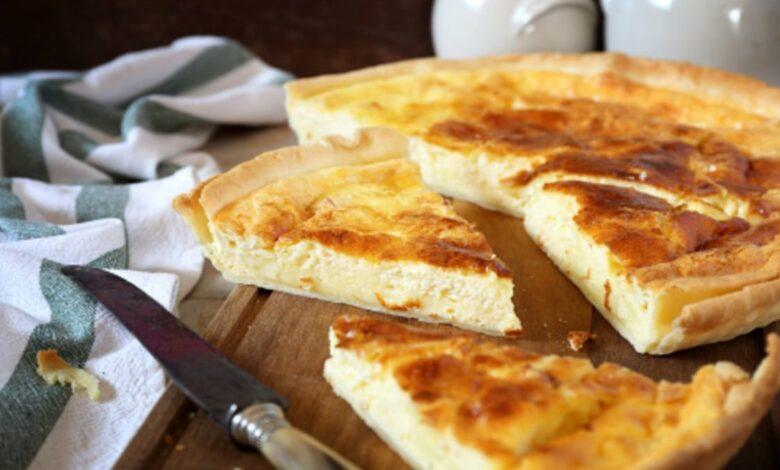 Receta de tarta de queso en hojaldre fácil de preparar 1