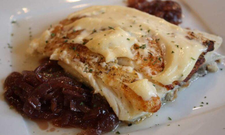 Receta de Timbal de bacalao, pimiento rojo y salsa alioli 1