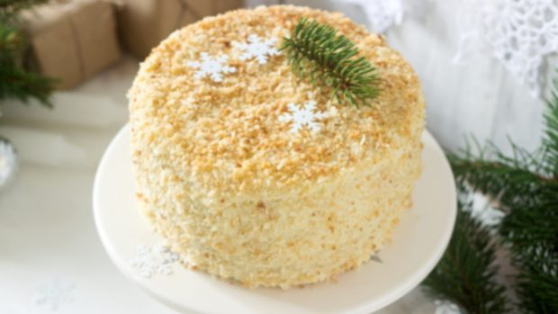 La tarta de turrón más fácil del mundo, con 3 ingredientes y sin horno
