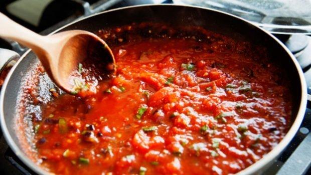 Espaguetis con Verduras