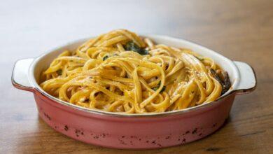 5 recetas de salsas para pasta especiales, sin tomate 3