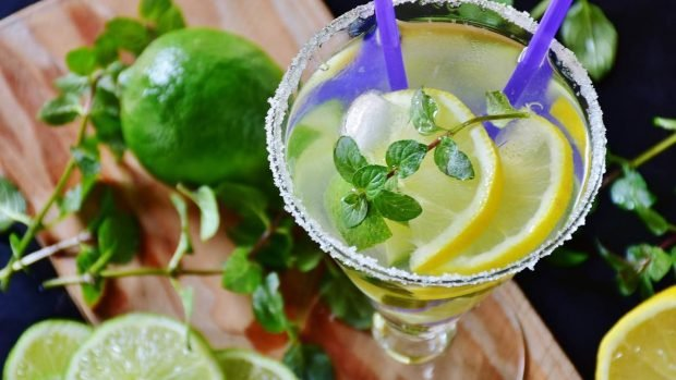 Bebidas saludables para brindar