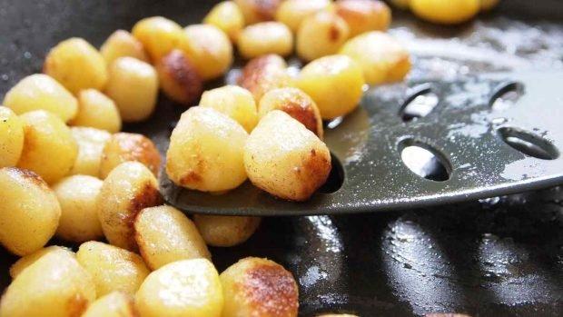 Receta de crema de puerros con patatas
