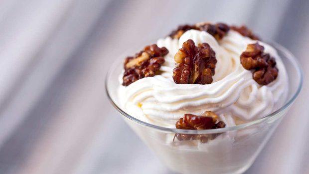 Nueces caramelizadas en casa