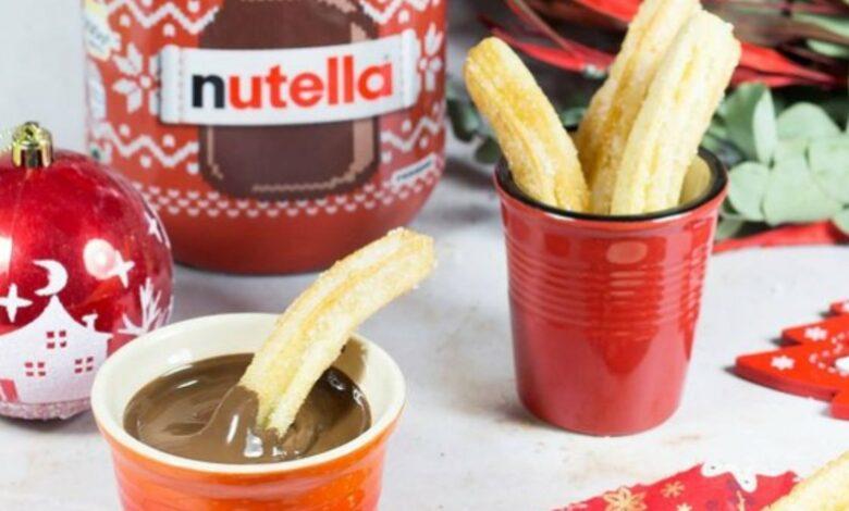 Receta de churros con Nutella de Alma Cupcakes 1