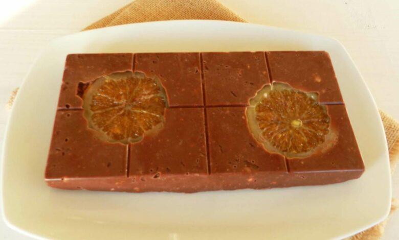 Las mejores recetas caseras de Turrón de chocolate con Naranja 1