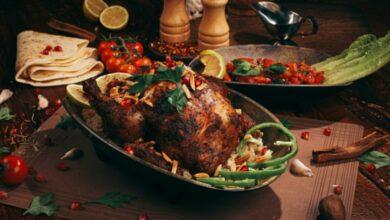 Receta de pollo relleno de carne y ciruelas 5