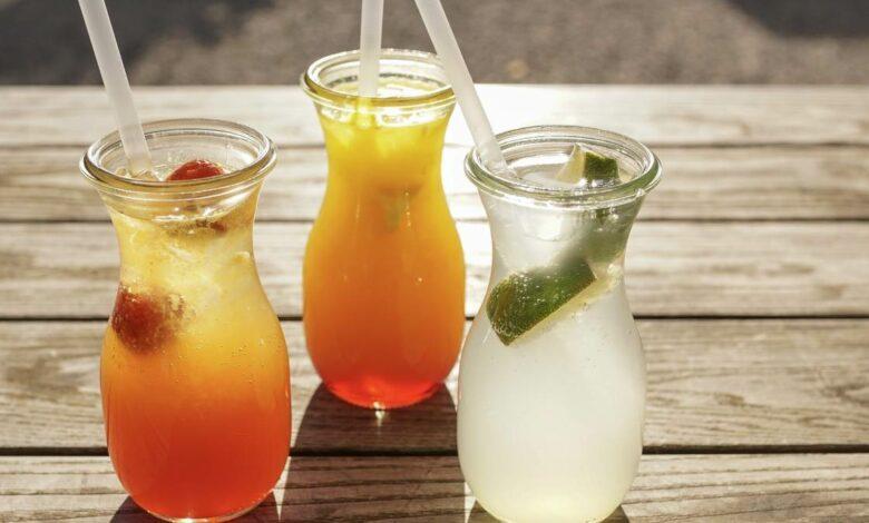 Receta de champán de frutas y otras bebidas sanas para brindar, sin alcohol 1