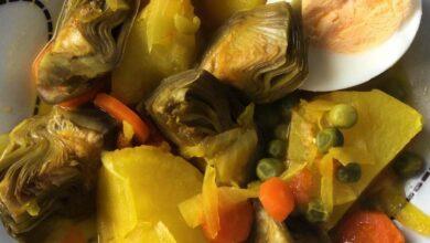 Recetas para cocinar las alcachofas y que estén al punto 9