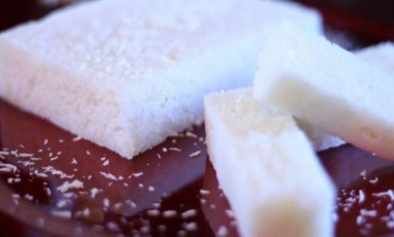 Receta de turrón de coco artesano fácil de preparar 1