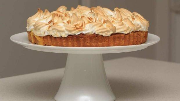 Tarta con merengue