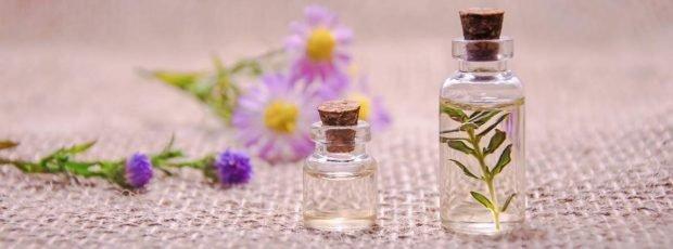 Aromas en el aceite