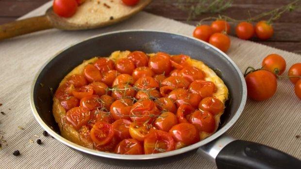Tartaleta con tomate