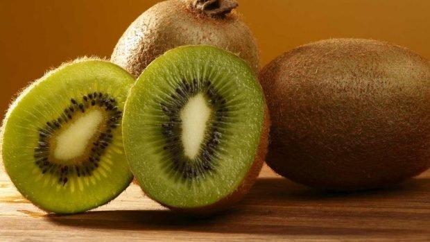 Flan de kiwi