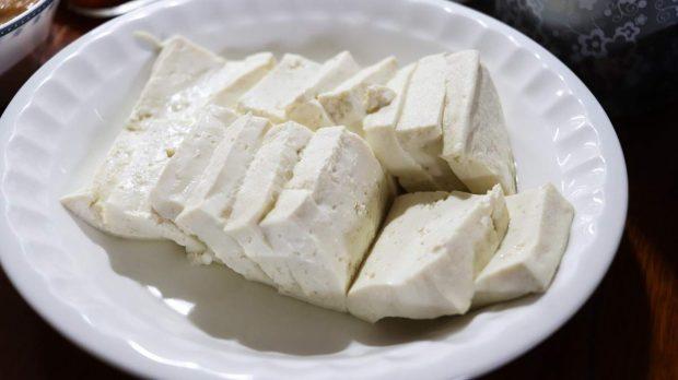 Pastel de tofu y berenjena