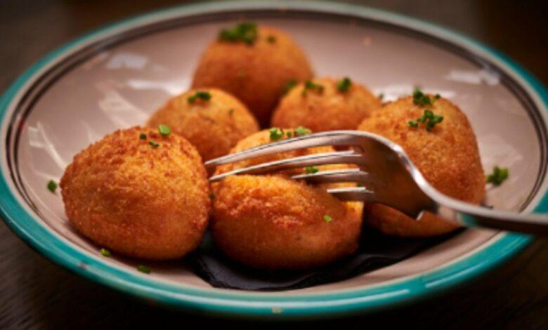 Receta de croquetas veganas de boniato y champiñones 1