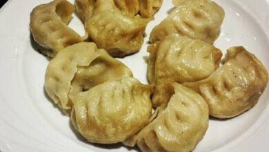 Receta de Empanadillas chinas rellenas de setas y verduras 8