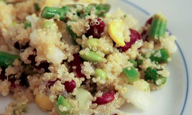 Receta de Ensalada de quinoa y hortalizas asadas 1