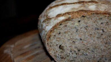 Receta de Pan bajo en carbohidratos con harina de berenjena y sésamo 4