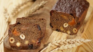 Receta de pan de chocolate y avellanas casero 7