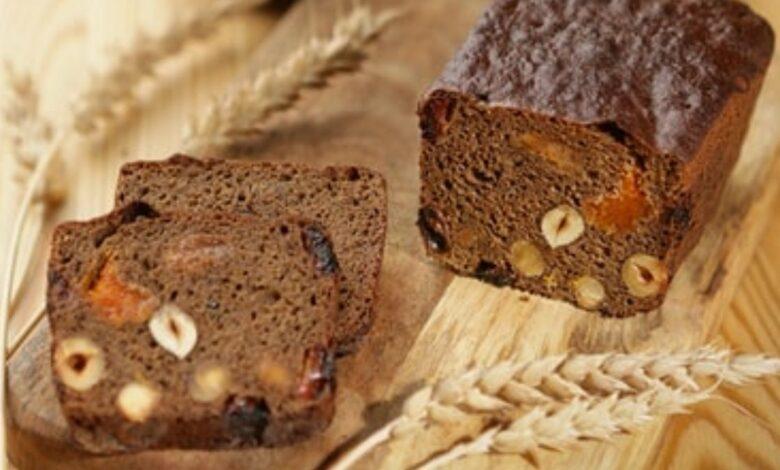 Receta de pan de chocolate y avellanas casero 1