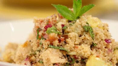Receta de pollo con quinoa 8