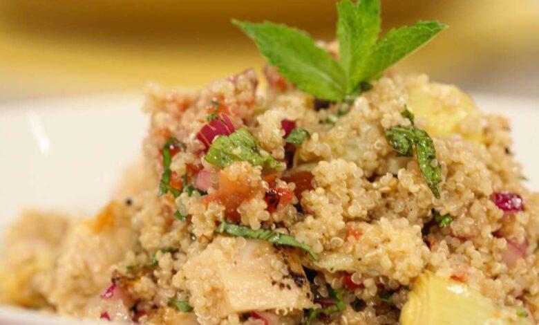 Receta de pollo con quinoa 1