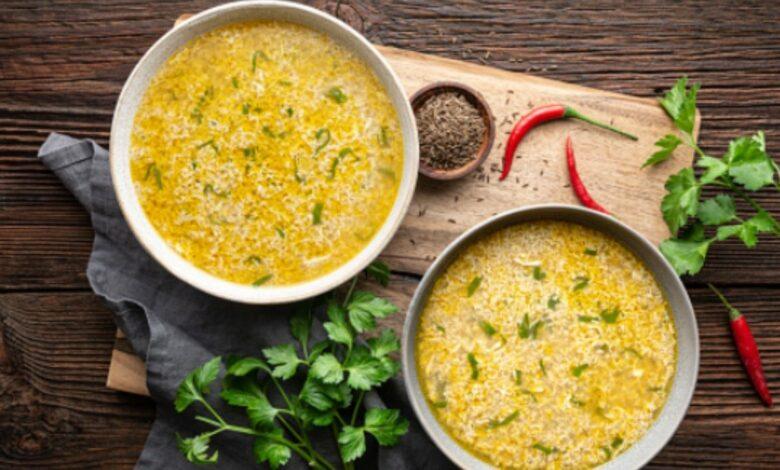Receta de sopa de verduras con huevo 1