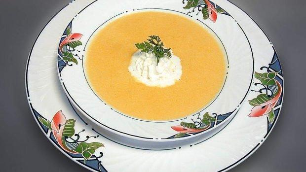 Crema de zanahorias y puerros