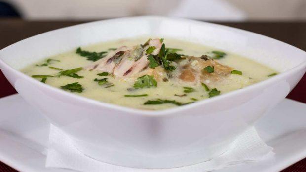 Sopa fácil de pollo y verduras