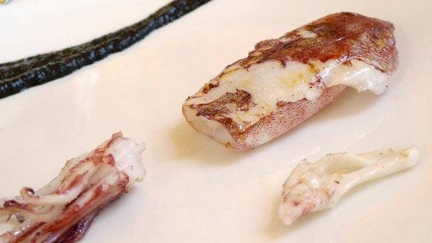 Calamares al horno con ajo y perejil
