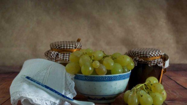 Mermelada de uva