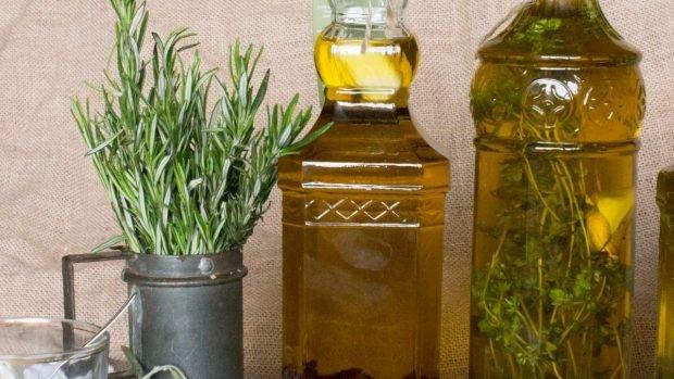 Aceites de hierbas