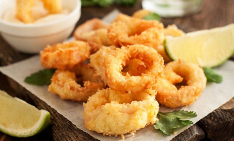 Receta de calamares a la andaluza: receta auténtica 1