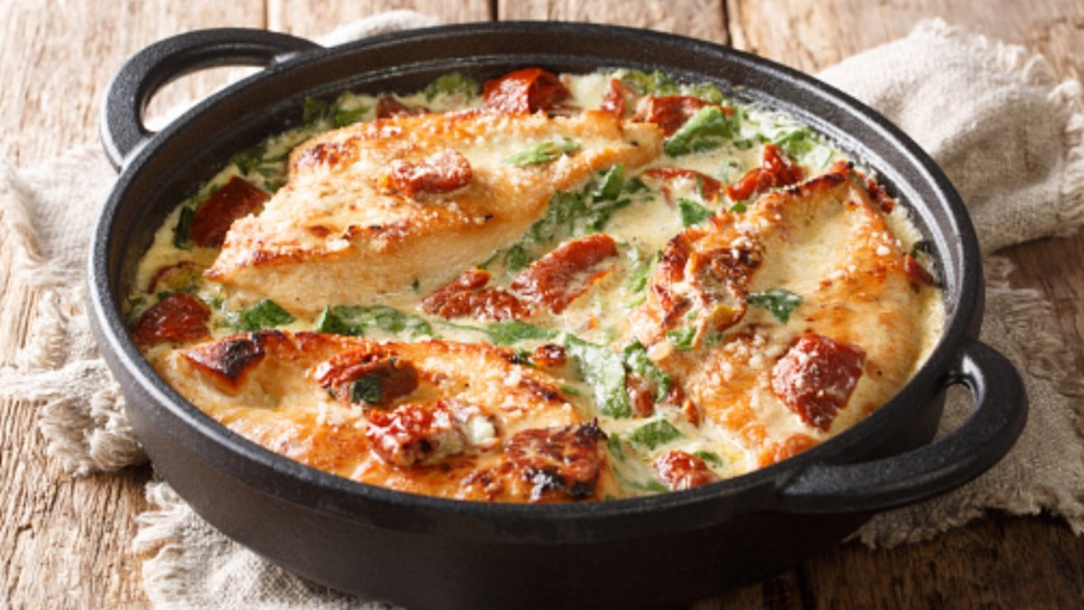Receta de espinacas con bechamel al horno fácil de preparar 1