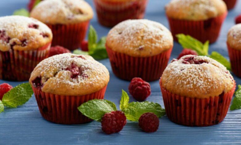 Receta de magdalenas con frutos rojos sanas y deliciosas 1