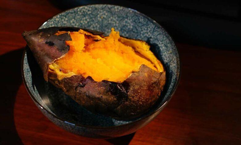 Receta de Batata al microondas fácil de preparar 1