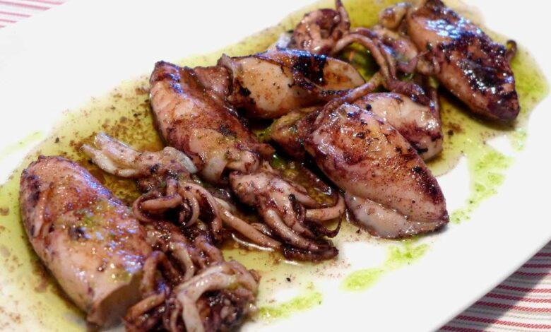 Receta de Chipirones al horno con ajo y perejil 1