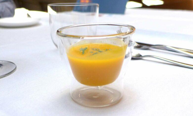Receta de Crema de zanahorias y puerros 1