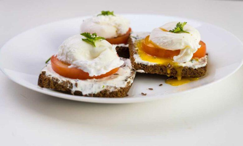 Receta de Huevos escalfados en el microondas 1