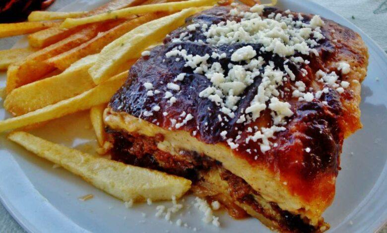 Receta de Lasaña sin pasta con berenjenas 1