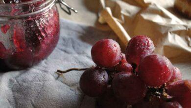 Receta de Mermelada de uva 3