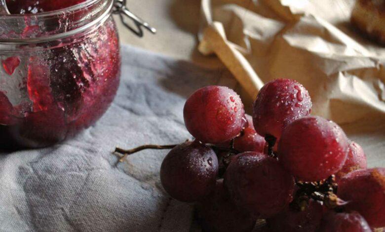 Receta de Mermelada de uva 1