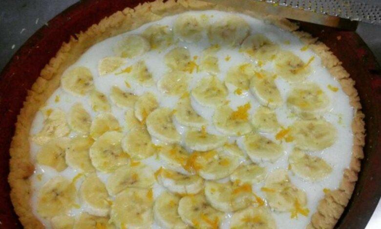 Receta de tarta de plátano al estilo casero 1