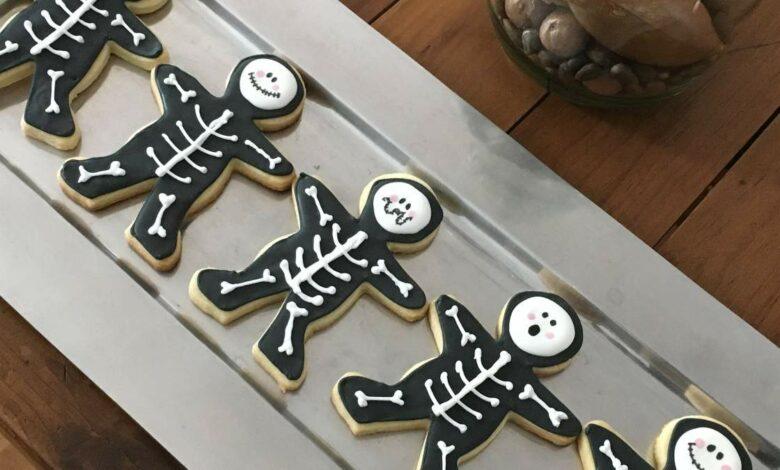 Recetas de galletas fáciles para Halloween para preparar con niños 1